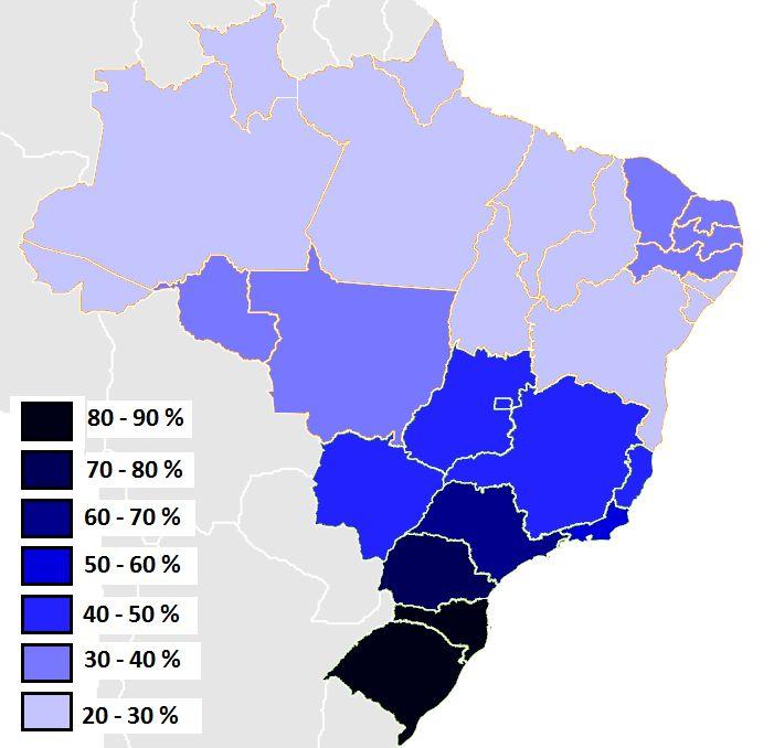 Besten Maps Of South America Bilder Auf Pinterest Karten - South america map brazil