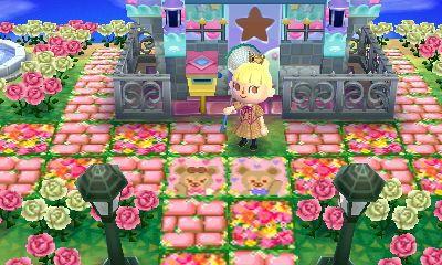 Animal Crossing Flower Field