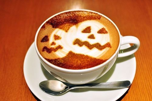 Jack o Lantern coffee drinks coffee autumn halloween pumpkins