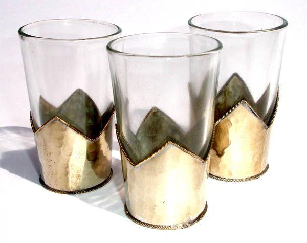 Moroccan tea glasses: moroccan tea cups, moroccan decoration tea glasses ($20-50) - Svpply