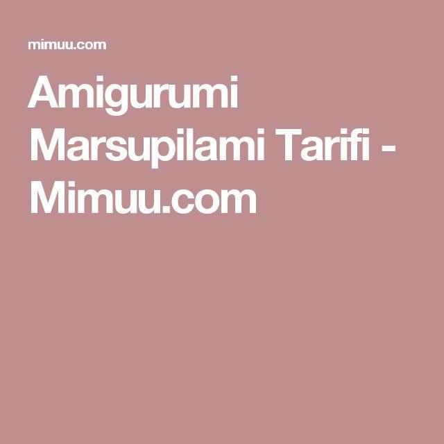 Amigurumi Marsupilami Tarifi - Mimuu.com