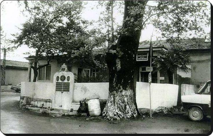Eski Bostancı Karakolu,Çeşmesi ve Meydanı - 1970'ler