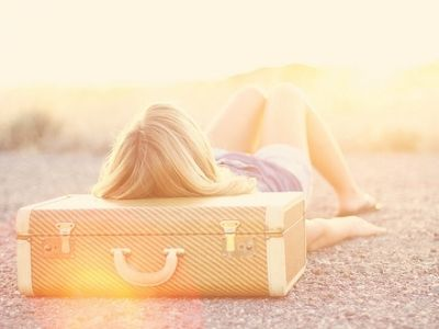 : The Roads, Old Suitca, Packs Lights, Sunny Day, Places, Travel, Sun Flare, Bags, Wanderlust