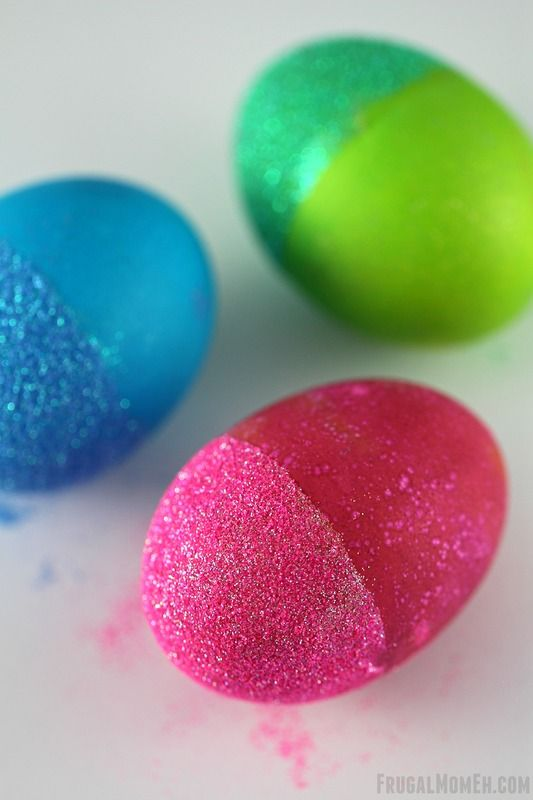jajka w gilterze