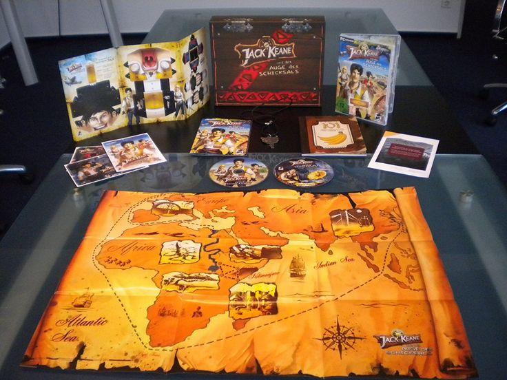 Jack Keane und das Auge des Schicksals - Collector's Edition - [PC]: Amazon.de: Games