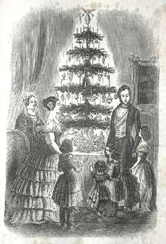 The History of Christmas Trees -- Christmas Customs and Traditions -- whychristmas?com: