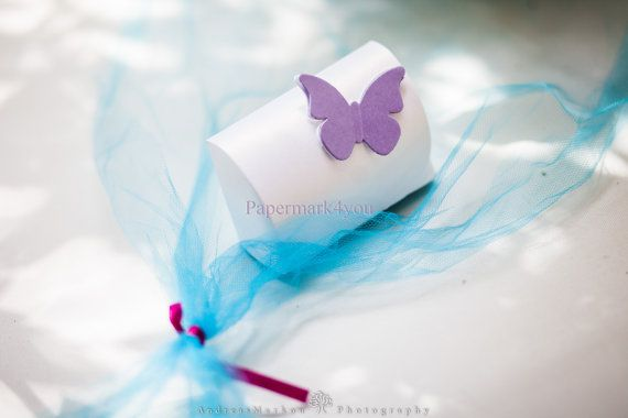 Wedding Favor Handmade Box Paper Treasure Boxes by PaperMark4You