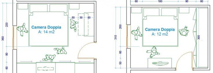 Oltre 25 fantastiche idee su camera da letto da uomo su - Camera da letto misure ...