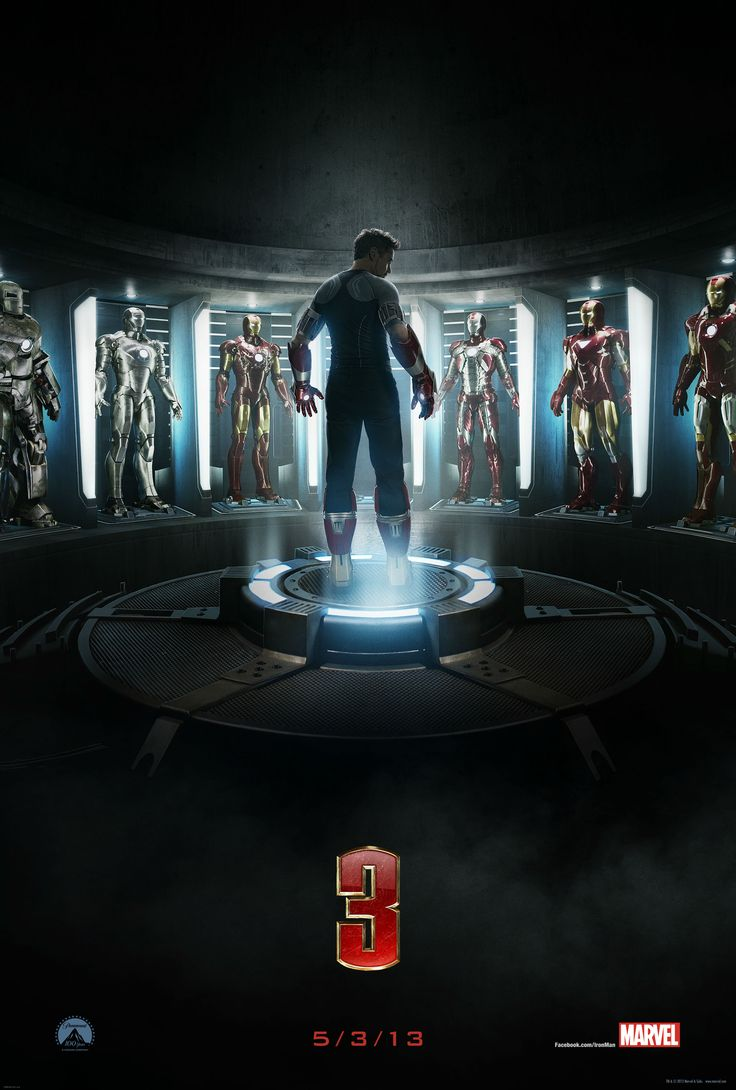 IRON MAN 3 Teaser Poster and 5 New Official Photos