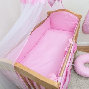 Plain Baby Cot Bedding