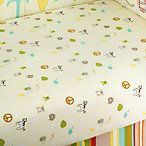 TOO GOOD™ by Jenny McCarthy A – Z Fitted Crib Sheet