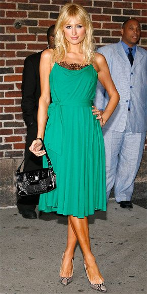 Paris Hilton's 30 Most Memorable Looks - September 2008  - from InStyle.com