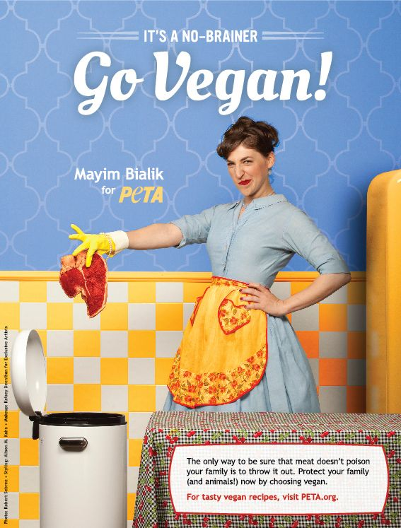 Vegan actress Mayim Bialik wants you to trash meat and go vegan | This Dish Is Veg - Vegan, Animal Rights, Eco-friendly News