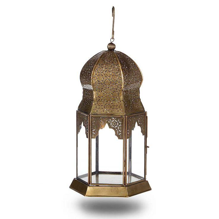 Antique Brass Dome Lantern 39.95