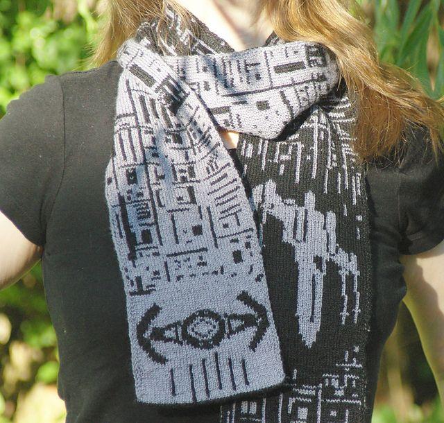 Ravelry: I Have You Now Double Knit Scarf pattern by Frivolite Handcrafts