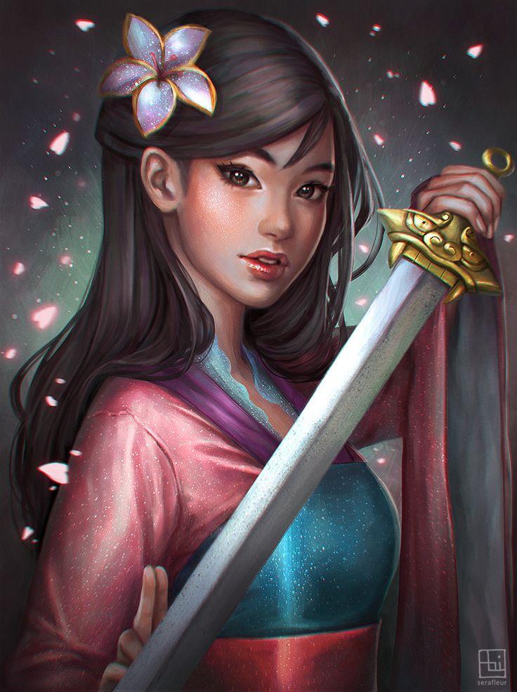 Mulan Warrior Princess Disney