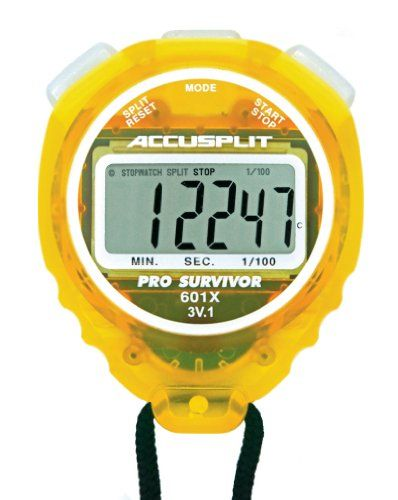 ACCUSPLIT Pro Survivor – A601X Stopwatch, Clock, Extra Large Display #deals