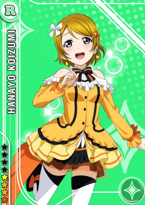 Koizumi Hanayo R card