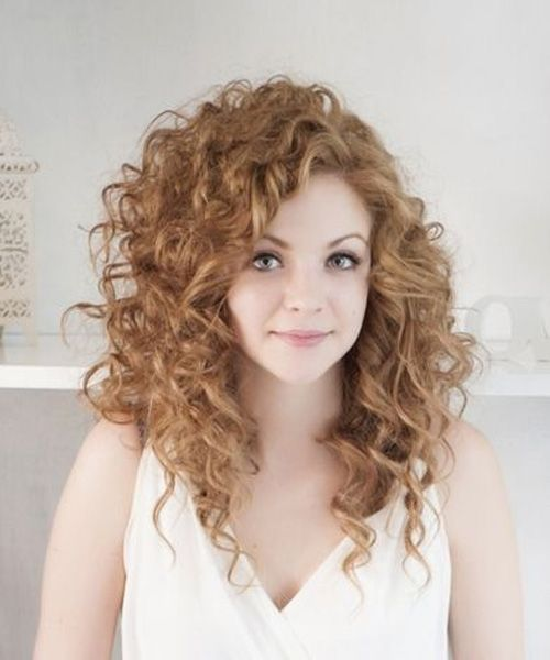 Enjoyable 1000 Ideas About Long Curly Hairstyles On Pinterest Long Curly Short Hairstyles Gunalazisus