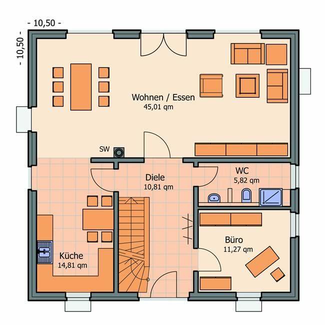 Toskana Haus Modern Grundriss Floor Plans Architecture Villa