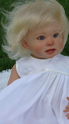 "ANGELBABYMAKER ~ CUSTOM REBORN BABY TODDLER DOLL ""BONNIE"" BY LINDA MURRAY!"