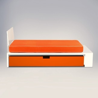 ducduc Alex Full Trundle Bed with Headboard