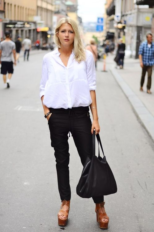 1000  images about The White Shirt on Pinterest