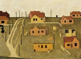 Subdivision, 1954 - John Brack
