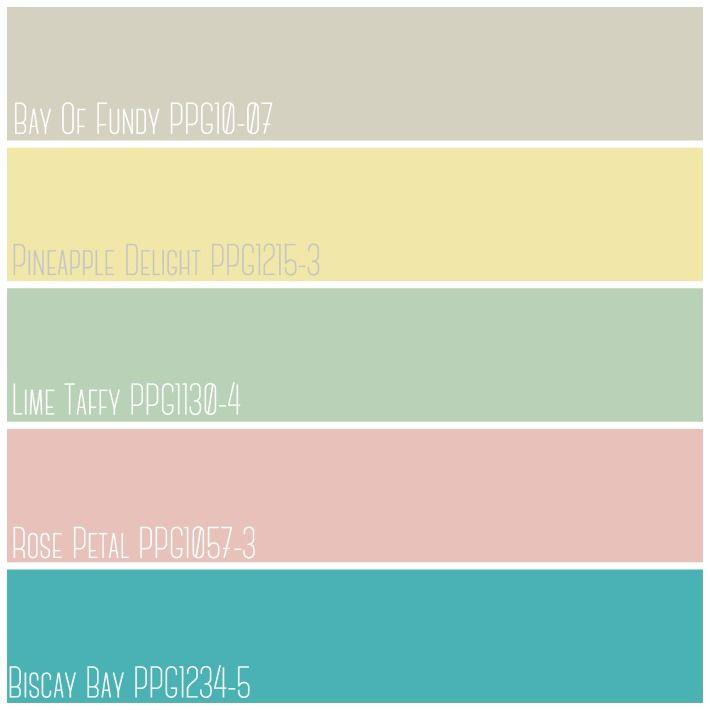 Color Crush Paint Color Harmony Palette By Ppg Voice Of Color