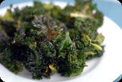 Oven Roasted Kale Chips  http://thewholejourney.com/oven-roasted-kale-chips