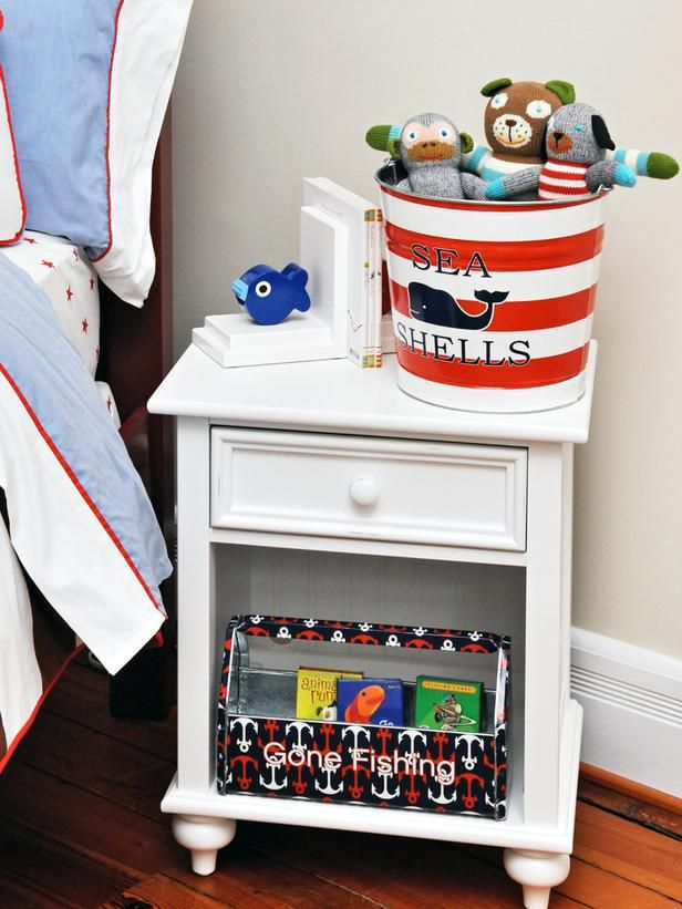 Designer MacGyver: 5 Perfect Ideas for Metal Pails and Buckets (http://blog.hgtv.com/design/2014/06/23/metal-pail-bucket-ideas/?soc=pinterest): Inspiration Kids, Nautical Decor, Theme Rooms, Boys Bedrooms, Boys Rooms, Rooms Theme, Rooms Ideas, Nautical Inspiration, Kids Rooms