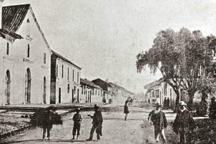 1860, Iglesia de Nuestra Señora de las Nieves - Bogotá, Colombia
