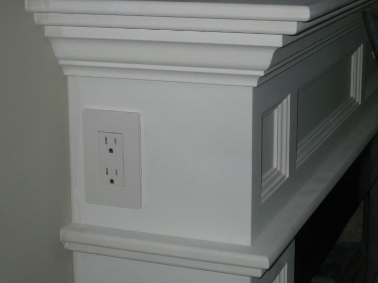 Install A Power Outlet On Your Fireplace Mantel Find Your