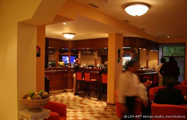 Интерьеры ресторана  «Наварро'с Бар&Гриль»