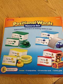 The Autism Tank: Preposition Activity