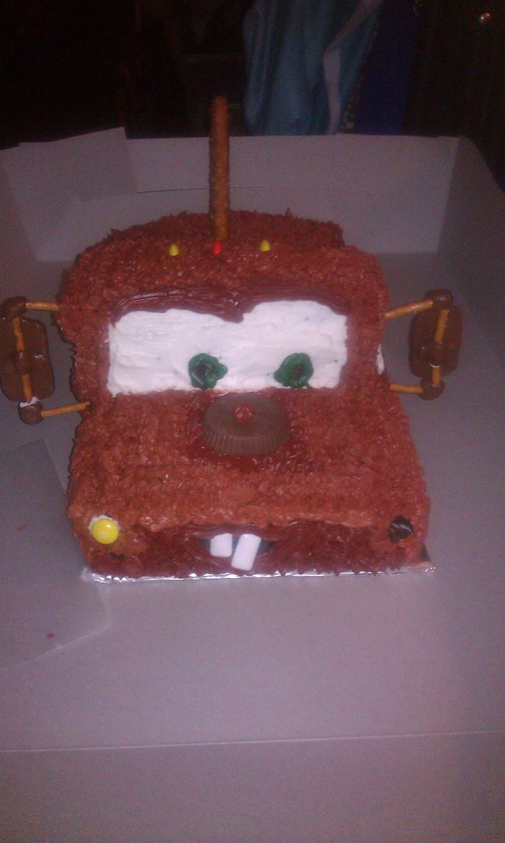 Mater off the cars movie