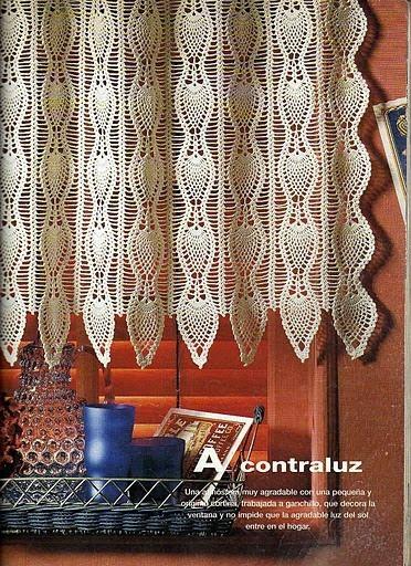 Szydełkomania ~ curtain graph pattern -- just beautiful