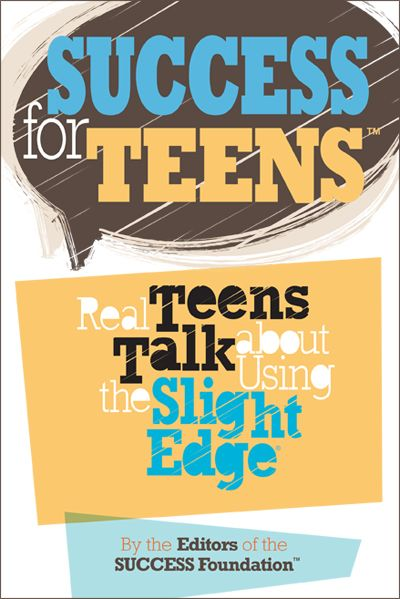 SUCCESS for Teens. This is a fantastic book for teens, parents, and teachers. FREE on iTunes! I'm recommending this to everyone when school starts again!!