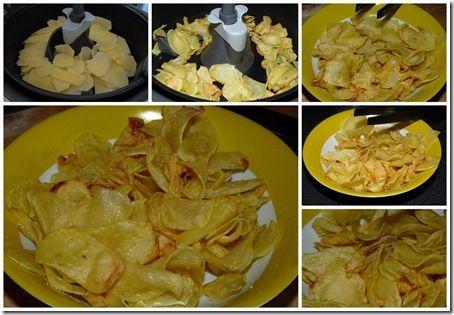 On peut faire des chips avec l'actifry !
