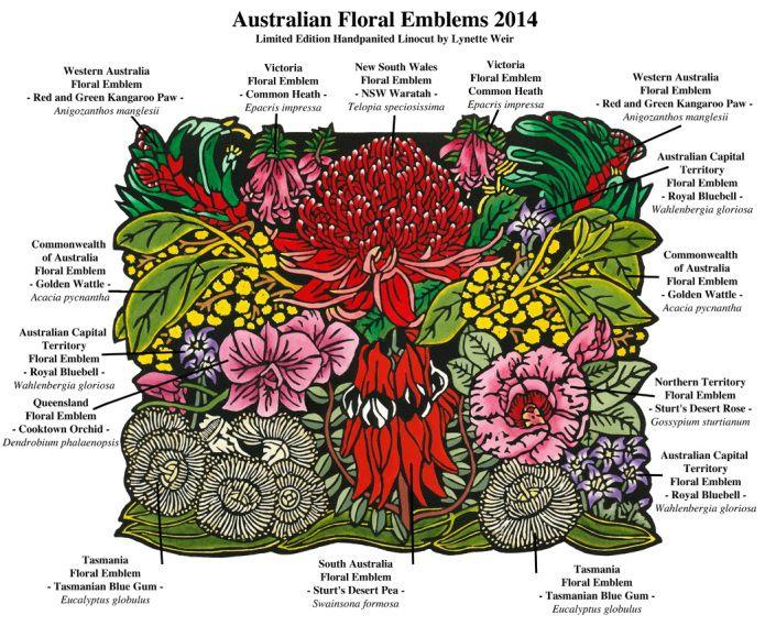 AUSTRALIAN FLORAL EMBLEMS 2014 Small Print File