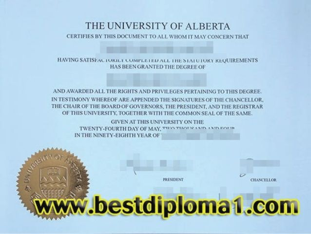University of Alberta diploma, fake Alberta degree Skype: bestdiploma Email: bestdiploma1@outlook.com http://www.bestdiploma1.com/  whatsapp:+8615505410027