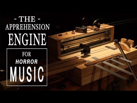 The Apprehension Engine, A Handmade Instrument That Creates Spine Chilling Horror Movie Sounds
