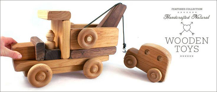 Juguetes de madera Naturales