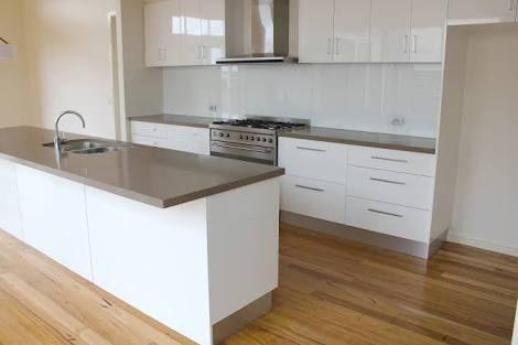 white laminex kitchen - Google Search