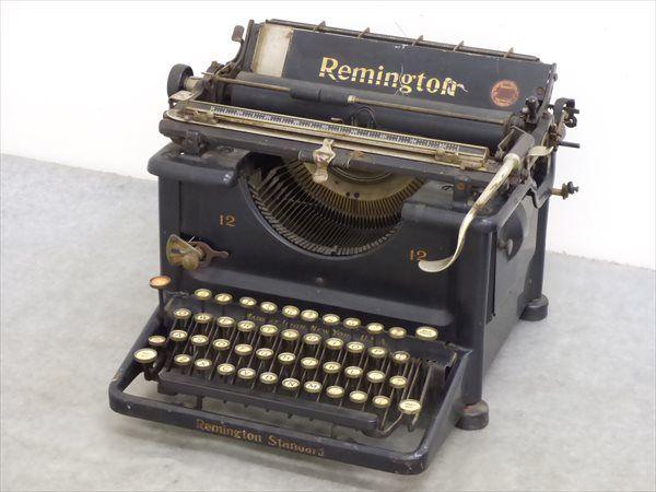 アンティーク Remington/レミントン☆タイプライター 管FG5511_画像1