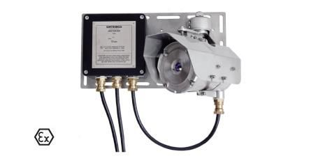 The Detcon GD1 Laser Open Path H2S Gas Detector uses a tunable laser diode that eliminates environmental effects (fog, rain, and sun) to enable superior stability and the fastest possible response time while requiring no recalibration. Multiple standard detectors can be replaced with the GD1 to monitor the same hazards. The electrical classification is Ex II 2 G Ex e IIC T4/T5/T6. http://www.dacriswell.com/detcongasdetectors.html