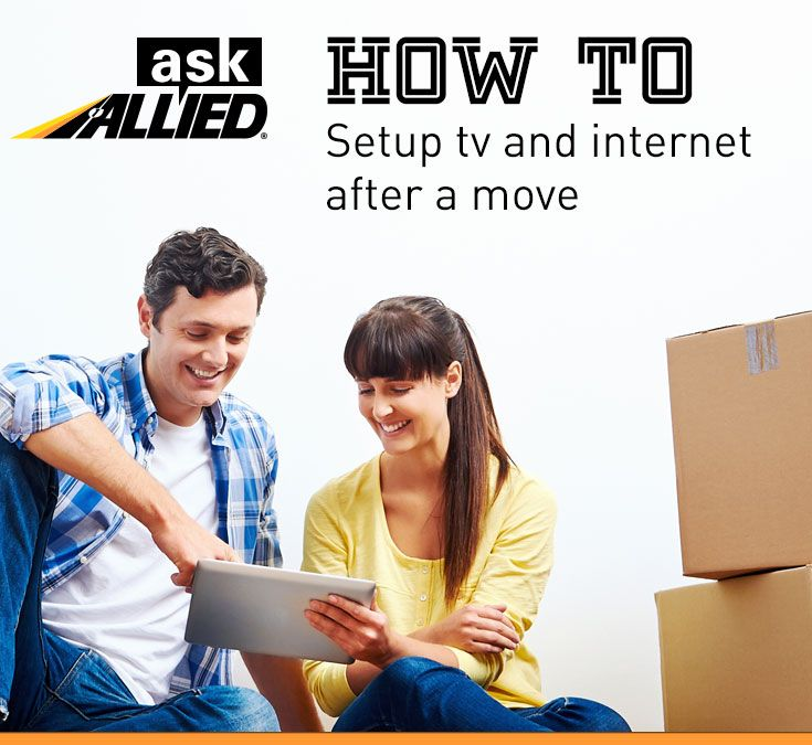 #MovingTips How to transition or change your television, cable, internet and phone providers during a move. From the moving experts at Allied Van Lines.