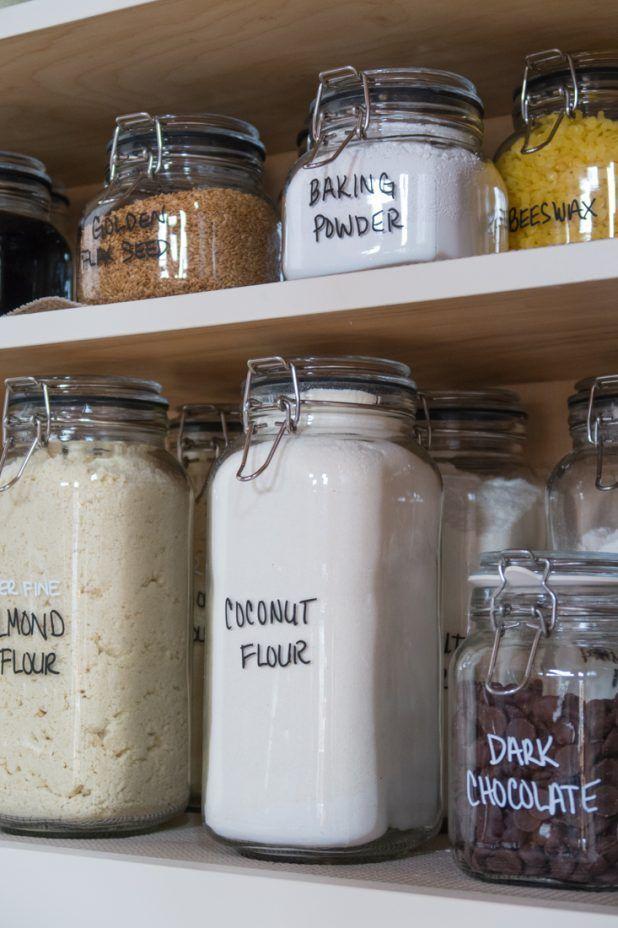 Baking Cupboard Storage Organization Baking Cupboard Pantry