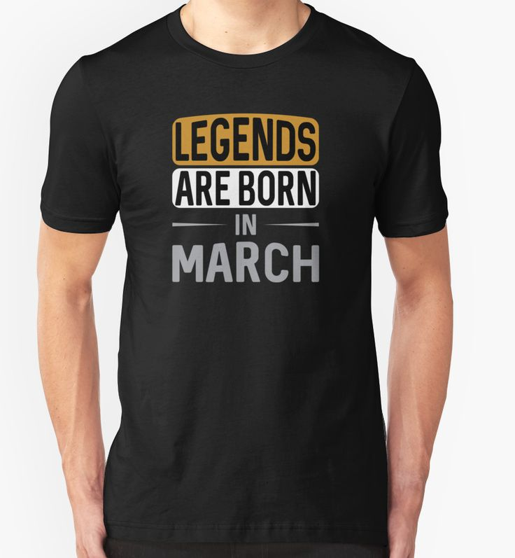 Legends are born in March by Black-Fox