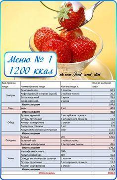 ЕШЬ И ХУДЕЙ: низкокалорийные рецепты